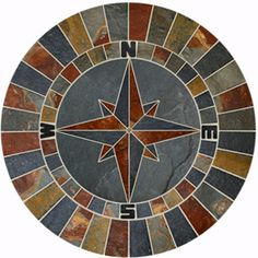 compass rose tile - Google Search
