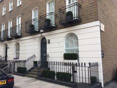 Belgravia, London. Pinned by www.vessou.com Made in England. Timeless design, handcrafted. #pots #planters #vasi #interiors #interiordesign