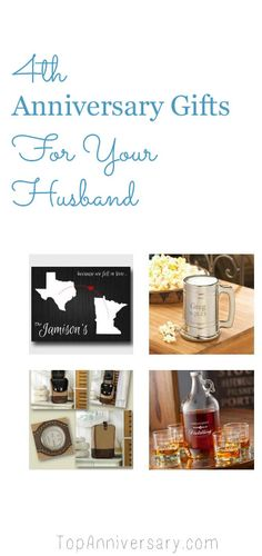 4th Anniversary Gifts for your husband that they will love 4th Wedding Anniversary Gifts For Him  sc 1 st  Pinterest & 47 Best 4th Wedding Anniversary Gift Ideas images | Canvas art ...