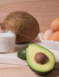 Avocado & Coconut Hair Mask, an at-home spa day #diy!
