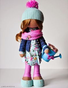 Mimin Dolls: doll by J. Melnikova + patterns