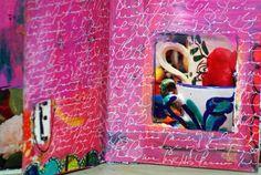 mixed media e-tea Pink Soul Studios