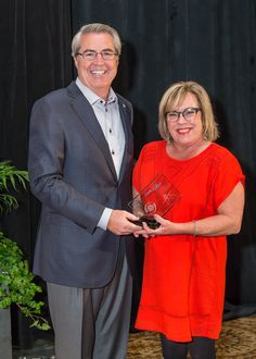 Cristy Carlson and Dave North, President & CEO of Sedgwick