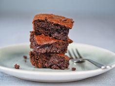 Čokoládové brownies s arašídovým máslem / Čokoládové cookies | Moje barevná kuchyně