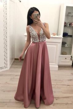 Buy Elegant A Line V Neck Beading Prom Dresses Straps Satin Evening Dresses uk on sale.Shop prom or formal dresses from Promdress. Find all of the latest styles and brands in Junior's prom and formal dresses at PromDress. Backless Prom Dresses, A Line Prom Dresses, Grad Dresses, Cheap Prom Dresses, Homecoming Dresses, Sexy Dresses, Fashion Dresses, Beaded Prom Dress, Blush Dresses