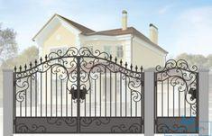 Entrance Gates, Front Gates, Door Design, House Design, Fence Builders, Gate Designs Modern, Iron Gate Design, House Extension Design, Wrought Iron Fences