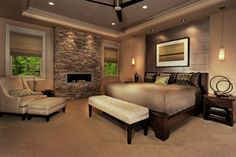 Hillside Home - contemporary - bedroom - philadelphia - by Norman Kohl for Nathan Mayo & Associates