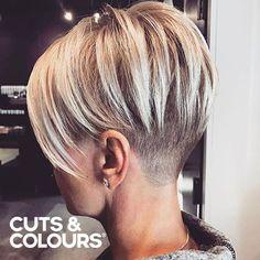 Blond & Vrouwelijk | Pittige Look | Kort haar | CUTS & COLOURS