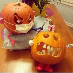Dental Pumpkin carvings. Better floss! It will soon be that time again. Do we want a contest???