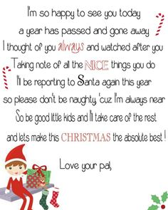 We hope this helps to have ALL Elf on the Shelf Arrival Letters in ONE PLACE! A complete index of FREE printable Elf on the Shelf Arrival Letters, updated daily, with NO dead links! We even put the newest ones at the top! Funny Kid Letters, Elf Letters, Letters For Kids, Santa Letter, Welcome Back Letter, Welcome Letters, Elf On The Self, The Elf, Elf Auf Dem Regal