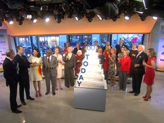 Watch how the #TODAYat60 birthday cake came to be!