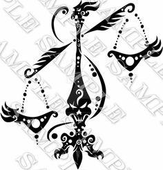 Libra Zodiac Tattoos, Capricorn Tattoo, Zodiac Art, Libra Astrology, Sagittarius, Horoscope, Orion Tattoo, Taurus Constellation Tattoo, Dragon Koi Tattoo Design