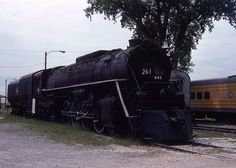 Milwaukee Road #261 at the National Railroad Museum, Green Bay ...