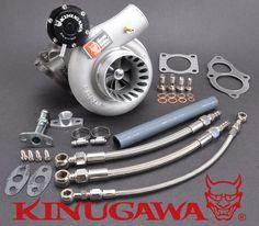 "Kinugawa Billet STS Turbocharger 3"" Anti Surge TD06SL2-25G 7cm for 4G63T DSM 1G 2G EVO 1~3 VR-4"