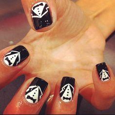 Tuxedo nail