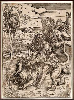 Alberto Durero (1471 - 1528) pintor y grabador del Renacimiento alemán.