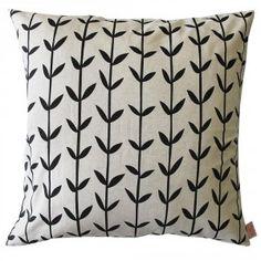 Black Orla Cushion Cover