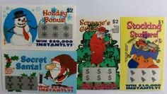 100 Holiday Themed Fake Lottery Tickets by Novelties Wholesale. $15.00. Great Stocking Stuffer. 4 Different styles. Realistic looking. Our Holiday themed fake lottery tickets are the greatest stocking stuffer and gag gift on earth. Each one looks very realistic. Each one appears to win $20,000 dollar or more. The joke is revealed once the ticket is turned over and the very funny text is read by the victim. The Ultimate Stocking Stuffer, dont go through the holidays with out them.