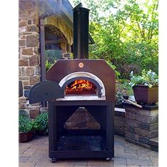 wood burning oven. Oh, this is nice.