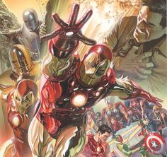 Be Superior! Presenting Your New Look at SUPERIOR IRON MAN #1!                                                                                                                                                               He will make you smarter. He will make you beautiful. He will make you healthy. All this could be yours with the new EXTREMIS 3.0. And the Superior Iron Man is ready to give them to you – for the right price!  Today Marvel is proud to present your first look inside SUPERIOR…