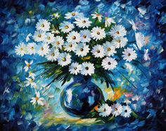 OIL ON CANVAS PAINTING DIRECTLY FROM FAMOUS ARTIST LEONID AFREMOV  Title: Radiance Size: 30 x 24 inches (75 cm x 60 cm) Condition: Excellent Brand new Gallery Estimated Value: $ 4,500 Type: Original Recreation Oil Painting on Canvas by Palette Knife  This is a recreation of a piece which was already sold.  Its not an identical copy, its a recreation of an old subject. This recreation will have texture unique just to this painting, a fingerprint that can never be repeated. My recreation will…