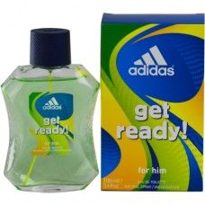 Shop for Adidas Get Ready Men's Eau de Toilette Spray. Get free delivery On EVERYTHING* Overstock - Your Online Beauty Products Shop! Good Cologne For Men, Best Perfume, Get Ready, Body Spray, After Shave, Adidas Men, Health And Beauty, Perfume Bottles, Pure Products