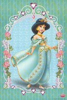 Disney Girls, Disney Love, Disney Art, Disney Princess Jasmine, Disney Princess Pictures, Disney Images, Walt Disney Pictures, Aladdin Disney Movie, Disney Reveal