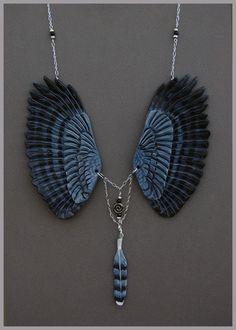 Harpyje pralesní Wings - Leather Přívěsek podle * windfalcon na deviantART