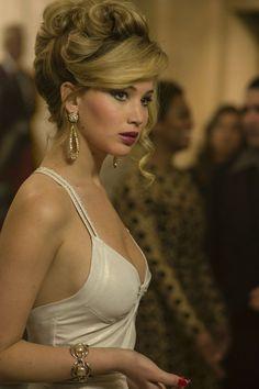 Jennifer Lawrence in American Hustle. Her performance was flawless