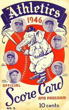 The A's and Their Elephants, Together Since July 10, 1902 — Todd Radom Design Elephant Trunk, Elephant Logo, White Elephant, Philadelphia Athletics, Baseball Photos, American League, Blog Topics, Design Art, Athlete