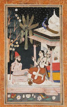 kedara ragini 5th wife of shri raga 1700