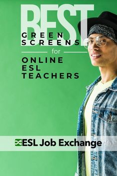 Set up a green screen to improve your teaching experience for yourself and your students! Bring more fun and creativity to your classroom by finding the right green screen to help you teach online. Best Green Screen, Green Screen Backdrop, Aviation Engineering, Online English Teacher, Teach Online, Online Classroom, Chroma Key, Online Lessons, Esl