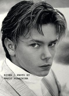 River phoenix being a babe