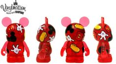"Disney Vinylmation 3"" Theme Park Favorites Mickey Mouse Body Parts NEW"