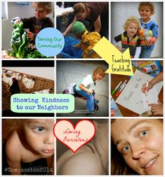 Top Picks from 14 Days of Loving-Kindness - February's Family Challenge from The Good Long Road