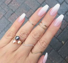 french fade with bare and white ombre acrylic nails coffin nails - page 17 . - hairstyles women - french fade with bare and white ombre acrylic nails coffin nails – page 17 … – - Coffin Nails Ombre, Gold Nails, Fun Nails, Gold Glitter, Glitter Nails, Matte Gold, Ombre French Nails, French Fade Nails, Gold Gold