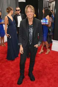 Keith Urban Photos Photos - Recording artist Keith Urban at The 59th Annual GRAMMY Awards at STAPLES Center on February 12, 2017 in Los Angeles, California. - FIJI Water At The 59th Annual GRAMMY Awards