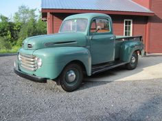 Want it...one day!  1950 Ford Pickup