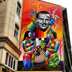 Street Art, Budapest, Hungary, October, 2016 ESLVentures.com