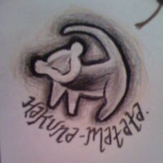 Hakuna Matata :) Tattoo Idea@the Red Stitchanderson.. Thought You Might Like This