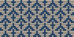 Arrow, Knitting patterns free, knitting charts and motifs - www.knitting-patterns-free.rucniprace.cz