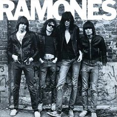 Ramones – Ramones album cover. http://www.pinterest.com/TheHitman14/album-cover-art/