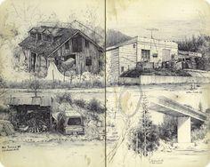 Fall 2015 Sketchbook Drawings - Blog - Pat Perry