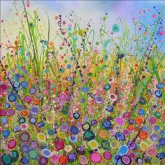 Yvonne Coomber  flower artist glitter sparkle devon yvonnecoomber.com  #Flowers #Artist