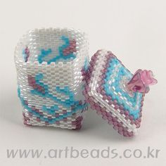 Beaded Box pattern Шкатулка из бисера