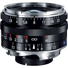 Zeiss 35mm f/2.8 C Biogon for Leica M mount - $860 new for a very high performing though slower lens