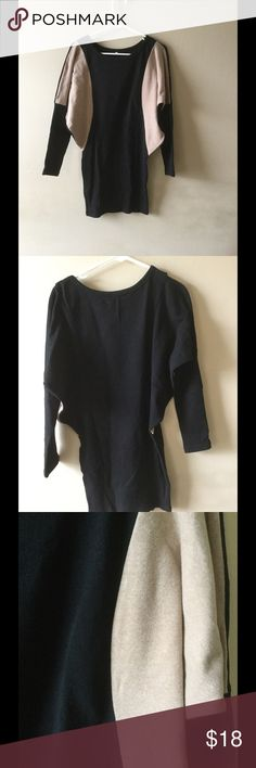 Black Color Block Bodycon Dress Black Color Block Bodycon Dress Dresses