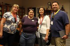 2013 PNW Mouse Treks Tour of Walt Disney Studios Archives - Fan photo with Chief Archivist Becky Cline