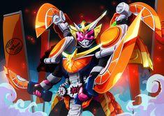 Kamen Rider Zi-O Gaim Armor Kamen Rider Gaim, Kamen Rider Kabuto, Kamen Rider Series, Fallout Power Armor, Robot Cartoon, Mecha Anime, Robot Art, Robots, Anime Cat