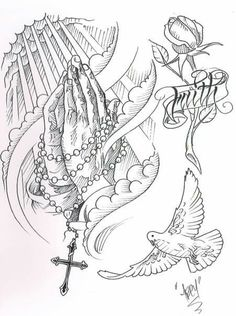 Abey Alvarez - Religious References and Sketches Book 1 Hand Tattoos, Cool Forearm Tattoos, Dope Tattoos, Body Art Tattoos, Tattoos For Guys, Tattoo Design Drawings, Tattoo Sleeve Designs, Tattoo Sketches, Sleeve Tattoos